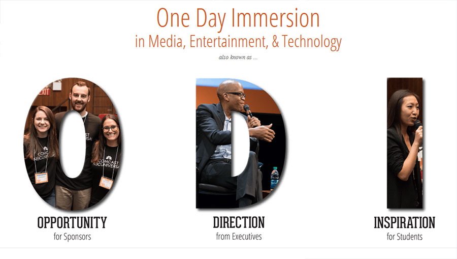 One Day Immersion in Media, Entertainment and Technology