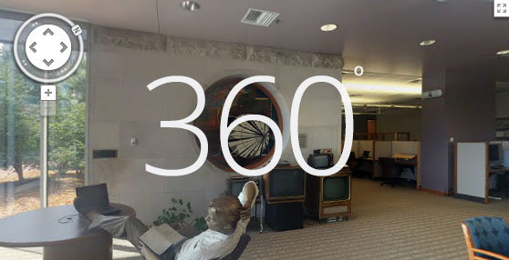 Click to see 360 view of The Barco Library