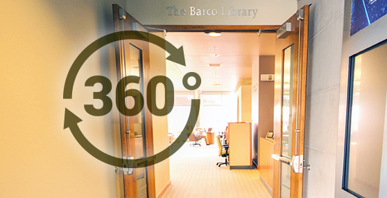 360 Barco Library Entrance