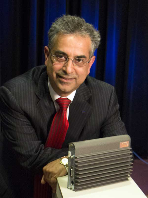 Dr. Rouzbeh Yassini with Cable Modem in 2015